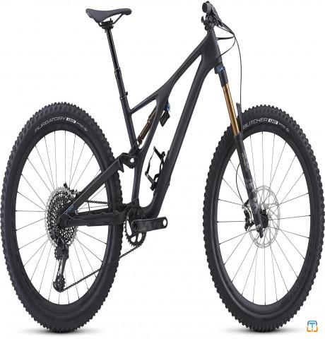 2019 S-Works Stumpjumper FSR 27.5 Satin/Carbon/Storm Grey