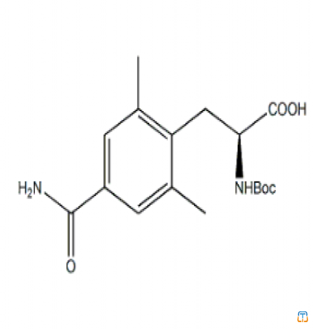 4-(Aminocarbonyl)-N-[(1,1-dimethylethoxy)carbonyl]-2,6-dimethyl-L-phenylalanine