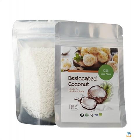 DESICCATED COCONUT HIGH FAT FOR CONFECTIONARY AND OIL EXTRACTING
