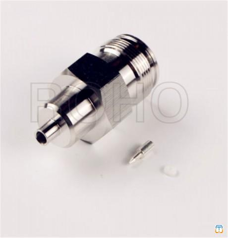 4.3/10 RF coaxial connector