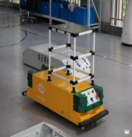High Quality Safe Driving Conducting Rail Powered Agv Transfer Cart