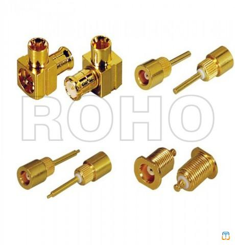 MCX series RF coaxial connector