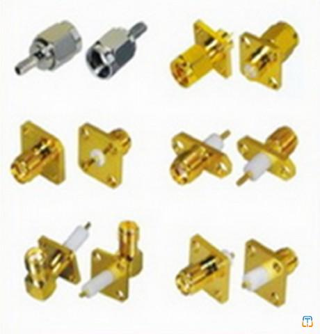 SMA series RF coaxial connector