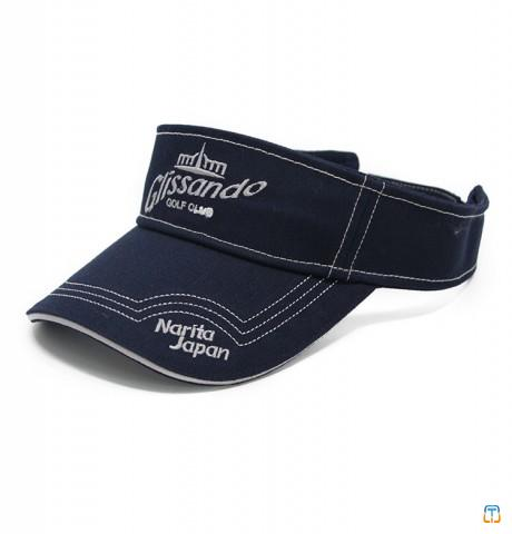 Cotton Sun Visor Cap With Custom Logo