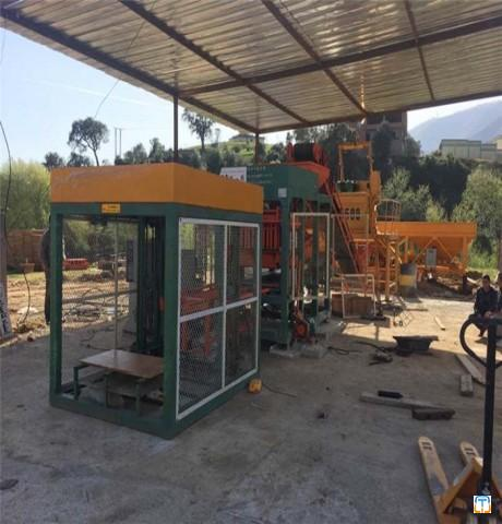 QT6-15 fully automatic hydraulic cement block making machine
