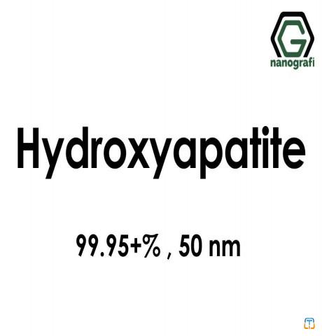 Hydroxyapatite Nanopowder/Nanoparticles, Purity: 99.95+%, Size: 50 nm