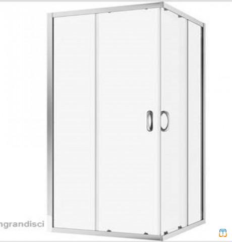 Stock of n. 400 shower cabins 90x70 4mm, made in Italy