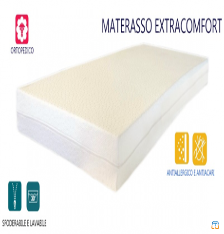 "Stock of 500 Orthopedic mattresses 140x190x14 ""extra relax"""