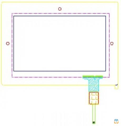 Touch Panel  TPC-070A31L