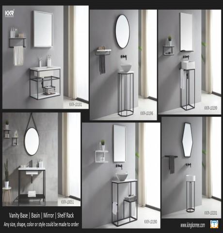 bathroom mirror can be with led light high quality mirror