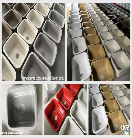 solid surface kitchen sink or bathroom basin solid surface basin from factory