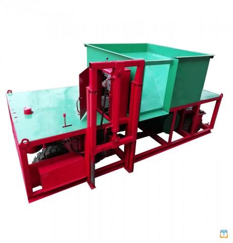 Slipform kerb machine