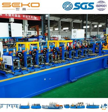 High Speed Industrial Ss Tube Mill Steel Welded Pipe Production Line