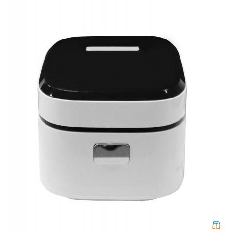 2.5L Ball-shape Inner Pot White 3D Heating Touch Control Multifunction Microcomputer Rice Cooker