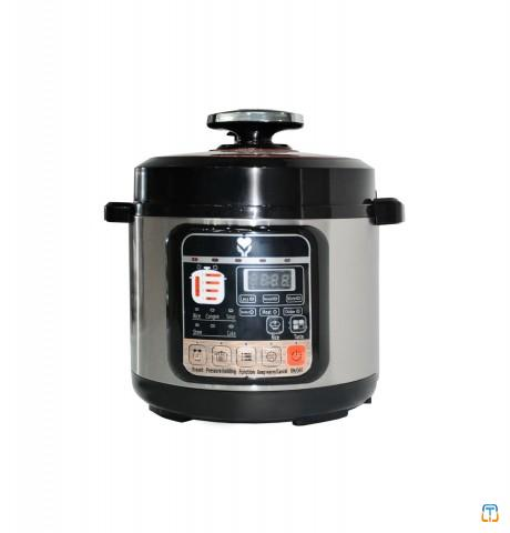 5L Stainless Steel Multifunction Electric Pressure Rice Cooker