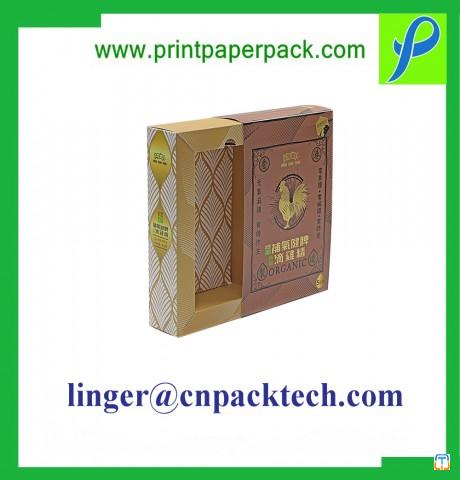 Exquisite Customized Cosmetic Perfume Paper Favor Box