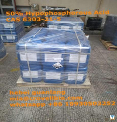 50% Hypophosphorous Acid CAS 6303-21-5 factory in China