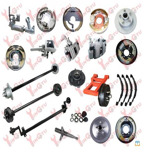 Trailer Parts, Axles, Brakes, Drums and Hubs
