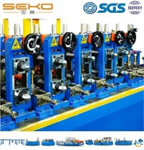Food Grade 304 Stainless Steel Welded Tube Mill Line Pipe Making Machine