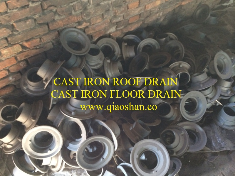 """3500 Series Cast Iron Roof Drain with 2""""-8"""" No Hub and Push"""