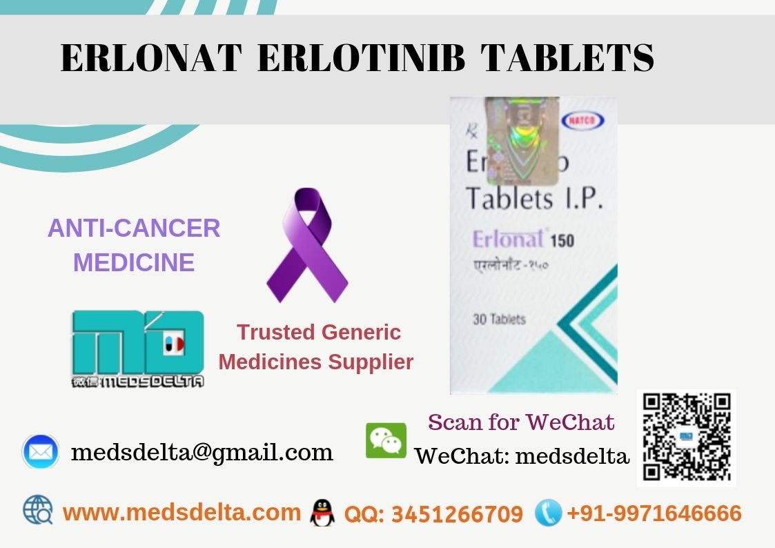 Buy Erlotinib 150mg Online With Paypal